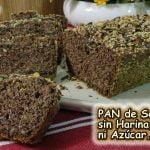 PAN DE SEMILLAS sin harina, sin gluten, sin azúcar, muy saludable  Mi receta de cocina