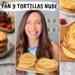 😱 PAN SIN HARINA | PAN NUBE | y tortilla con solo 3 ingredientes  Mi receta de cocina