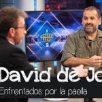 Pablo Motos y David de Jorge enfrentados por la paella - El Hormiguero
