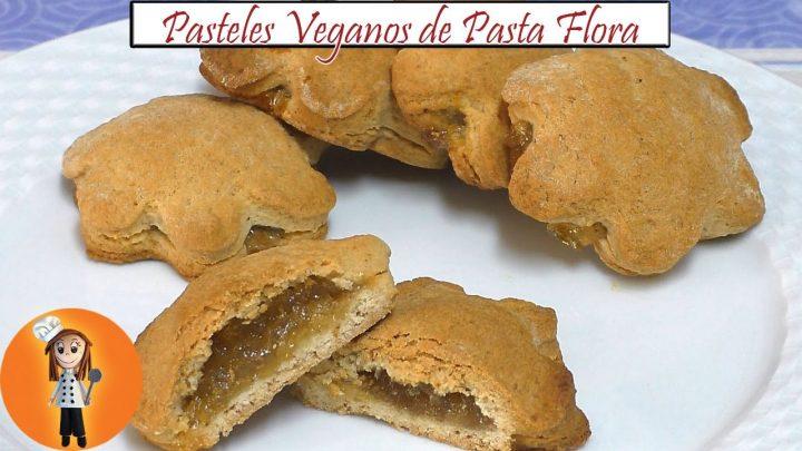 Pasteles Veganos de Pasta Flora | Receta de Cocina en Familia