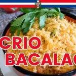 Receta Locrio de Bacalao Dominicano - Cocinando con Yolanda