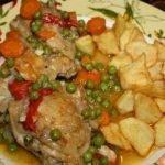 Receta: Pollo Arverjado (Con Guisantes) - Silvana Cocina ❤