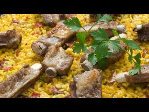 Receta de arroz con verduras y costilla de cerdo - Karlos Arguiñano