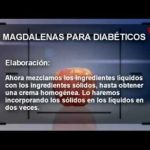 """Receta de cocina """"Magdalenas para diabéticos"""" - Anamatedietista.com  Mi receta de cocina"""