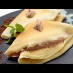 Receta de crepes rellenos de Eva Arguiñano Mi receta de cocina