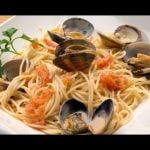 Receta de espaguetis con almejas - Karlos Arguiñano