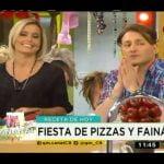 Receta de hoy: Fiesta de pizza y fainá  Mi receta de cocina
