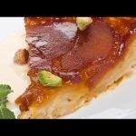 Receta de tarta tatin de manzana con natillas de cardamomo - Bruno Oteiza  Mi receta de cocina