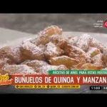 Receta dulce: buñuelos de quínoa y manzana Mi receta de cocina