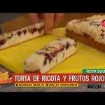 Receta dulce: torta de ricota y frutos rojos  Mi receta de cocina