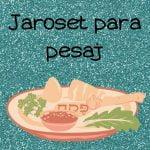 Receta jaroset para pesaj  Mi receta de cocina