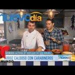 Recetas de Cocina: Arroz Caldoso con Carabineros | Un Nuevo Día | Telemundo
