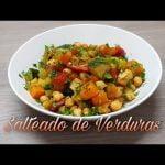 Salteado de Verduras y Garbanzos - Deliciosa Comida Saludable - Receta Vegana #76