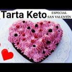 Tarta Keto de chocolate y frutos Rojos|Cetogenica|Sin Gluten|Pastel keto o Cetogenico|San Valentín Mi receta de cocina
