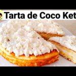 Tarta de Coco keto| Pastel de Coco keto| cetogenico|sin gluten  Mi receta de cocina