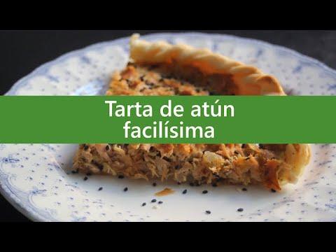 Tarta de atún #recetas #cocina #fácil
