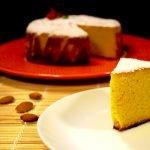 Torta cielo o bizcocho de almendra, fácil y delicioso / Almond cake  Mi receta de cocina