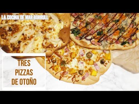 Tres pizzas de otoño + RECETA EXTRA ¡Nueva masa de pizza!   La Cocina de Mar Borrull