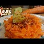 Zanahoria con Limon Recetas Light Las Recetas de Laura Snacks Light