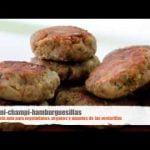 mini hamburguesillas de champiñones [receta vegana]  Mi receta de cocina