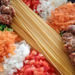 pasta en la sartén 🔝espaguetis con verdura la receta mas fácil👌