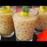▷Receta de Perlas de tapioca con leche fáciles y ligeras Cocina Saludable y Casera  Mi receta de cocina