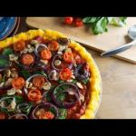 ▷Receta de Pizza vegana con base de polenta fáciles y ligeras Cocina Saludable y Casera  Mi receta de cocina