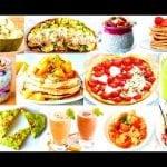 10  Recetas de Desayunos Fáciles Rápidos Ligeros Sanos Nutritivos y Super Ricos