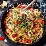 3 recetas saludables de pasta para bajar de peso - Recetas fáciles de pasta