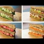 5 recetas de sandwiches saludables para bajar de peso