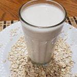 Agua de Avena para ayudar a bajar el colesterol
