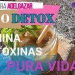 JUGO DETOX depurativo!!para adelgazar y BAJA DE PESO||VEG||RECETAS ORGÁNICAS||ECOLÓGICO||