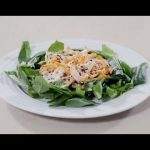 #Receta: Ensalada de pollo con aderezo ranch saludable   Receta para perder peso, Vida saludable