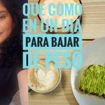 LO QUE COMO EN UN DIA PARA BAJAR DE PESO | RECETAS BAJAS EN AZUCAR, BALANCEADAS Y SALUDABLES