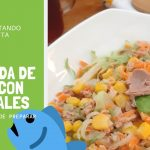 Ensalada de atún con vegetales 🥗  | Recetas saludables y para bajar de peso