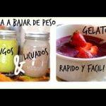 Recetas de licuados/jugos para bajar de peso y gelato casero!