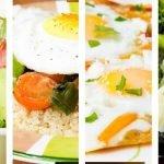 4 ideas de desayuno saludable para bajar de peso con huevos - Recetas para bajar de peso