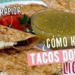 Tacos Dorados de Queso con Poblano SIN FREÍR - Comidas Saludables - Recetas de Cuaresma