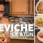 Ceviche de Atún || Receta Baja en Calorías  y Alta en Proteínas
