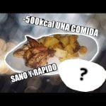 COMIDA SALUDABLE para BAJAR de PESO sin pasar HAMBRE ** DOS recetas MUY FÁCILES