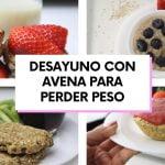 AVENA PARA PERDER PESO 5 RECETAS FÁCILES Y SALUDABLES PARA DESAYUNAR