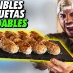 ¡¡RECETA CROQUETAS de DIETA SALUDABLES!! *Recetas Saludables y Fáciles para Bajar Peso* | corbacho