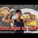 DESAYUNOS/MERIENDAS para BAJAR DE PESO / Recetas bajas en calorías
