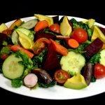 Ensalada para perder peso, estar sano y bajar el colesterol