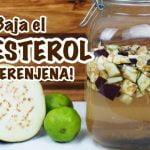 Baja el COLESTEROL MALO receta casera y efectiva!