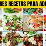 3 MEJORES RECETAS PARA Adelgazar RÁPIDAMENTE Y PERDER PESO CON SALUD Potente dieta para adelgazar