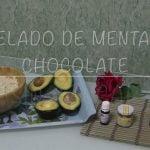 RECETA HELADO DE MENTA Y CHOCOLATE SIN AZUCAR   PERDER PESO