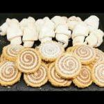 2 recetas ligeras, rápidas y deliciosas, tiernos croissants y galletas con cacao y nueces    @Está rico  Mi receta de cocina