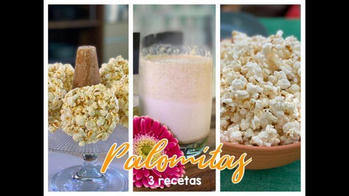 3 recetas con palomitas - La cocina del maíz - Sonia Ortiz con Rafael Miel