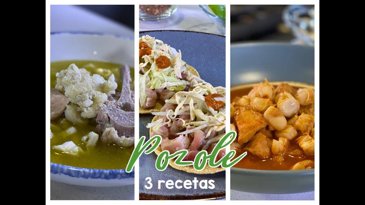 3 recetas de POZOLE- La Cocina del Maíz - Sonia Ortiz con Rafael Mier